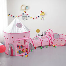 3in1 Outdoor Children Playhouse Kids Crawling Tunnel Toddlers Foldable Play Tent