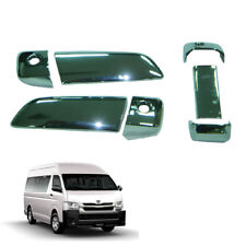 Door Handle Cover Chrome Trim 7 Pc To Toyota Hiace Commuter Van 2005 - 2016 2017