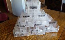 vintage nintendo game holder store display nes snes n64 gamecube