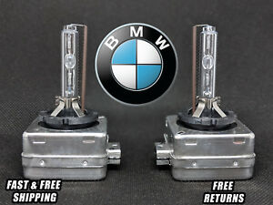 Stock Fit HID Xenon Headlight Bulbs for BMW 5 Series LOW Beams 2006 2007 Set 2