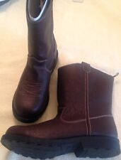 Boots Cowboy boys size 7M new EUR 23.5 man made materials toddler Faded Glory