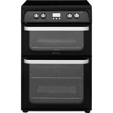 Hotpoint HUI614K Ultima Free Standing Electric Cooker with Induction Hob 60cm