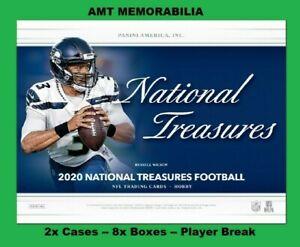 Baker Mayfield Browns 2020 Panini National Treasures 2X CASE 8X BOX BREAK #2