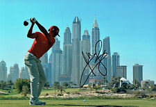 Rafael CABRERA-BELLO SIGNED Dubai Classic Golf Autograph 12x8 Photo AFTAL COA
