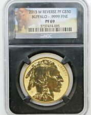 2013-W G$50 1 oz .9999 American Buffalo Gold Coin - NGC Reverse Proof PF 69