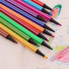 Marker 12pcs Colors Mark Pen Water Color Pens Kids Boys Girls Painting Pencils