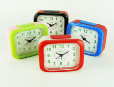 200 x Alarm Clock With Night Light - 50 x 4 Mixed Colours - Wholesale Job Lot