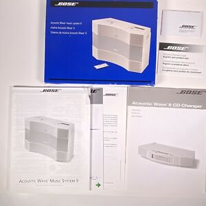 Bose Acoustic Wave Music System II 2 Owners Manual Only