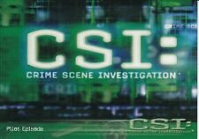 CSI Las Vegas saison 1 Trading card Set (100 Cards)