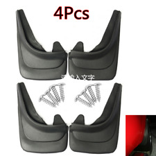 Universal ABS Plastic Car Front Rear Left Right Splash Guards Flaps Protector