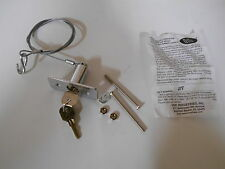 Lot of 2  Keyed Outside Garage Door Disconnect Cable Device Power Out