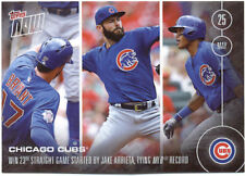 Chicago Cubs Topps Now #99 2016 Baseball Card