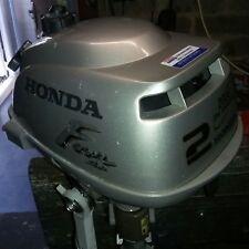 Honda 2hp 4 stroke outboard motor serviced with warranty