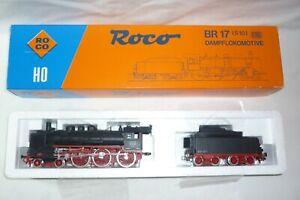 Roco - Scala H0 04125 B Locomotiva a Vapore Br 17 Con Tender Dr 17 1137 Conf