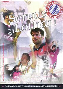 26.11.2000 FC Bayern München - Deutschland, Abschiedsspiel Lothar Matthäus