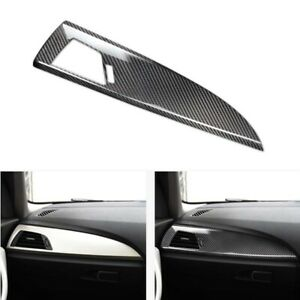 Carbon Fiber Center Console Dashboard Moulding Fit For BMW F20 F22 1 2 Series