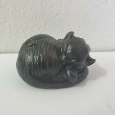 Allan Houser 1914-1994 Bronze Napping Cat Small Life Time Casting Dated '70