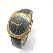 Vintage Soviet Mechanical Poljot Cardinal Alarm Signal Watch Rare USSR wrist Men