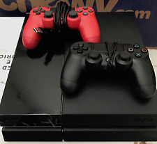SONY PLAYSTATION 4 500GB Black Console 500 GB 2 CONTROLLERS PLAY STATION
