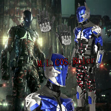 New High-quality  Arkham Knight Cosplay Costume Custom Made Hallowmas Suit Shoes