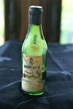 Vintage Sloppy Joes Mini Alcohol Bottle/ Havana , Cuba