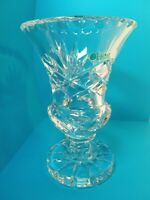 "Galway Irish Crystal 6"" Vase FREE SHIPPING! Excellent condition no box"