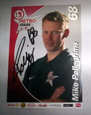 CARTE HOCKEY DEG METRO STARS - MIKE PELLEGRIMS / SIGNE