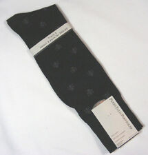 PERRY ELLIS PORFOLIO- Mens Dress Socks Black Shoe Size 6 1/2 -12  NEW