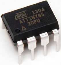 5pcs NEW ATTiny85-20PU 8-bit ATMEL AVR Microcontroller Dip8 MCU uC - FROM USA
