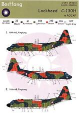Bestfong Decals 1/200 LOCKHEED C-130H HERCULES Low Viz Markings