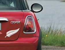Silver Fern Sticker Decal New Zealand NZ Car Boat Tattoo 10yrs+