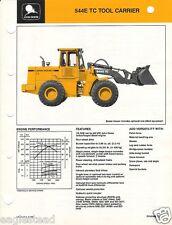 Equipment Brochure - John Deere - 544E Tc - Tool Carrier Loader - 1989 (Eb409)