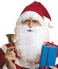 Cappello Con Barba Babbo Natale Santa Claus PS 01350