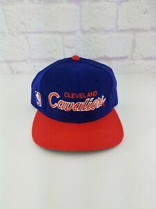 Vintage 90s NBA Cleveland Cavaliers Sports Specialties Wool Script Cap Hat 7 1/4