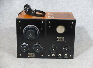1921 ! ! Herrliches Westinghouse RA/DA 3 Röhren Radio, original & funktionierend