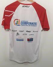 2XU Australian Corporate Triathlon Series Mens Activewear Tshirt White Sz M