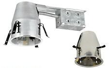 5 PCS 4-INCH Remodel Can with E26 Socket, Air Tight IC+UL Housing Recessed Light