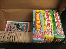 Lot of Approx. 200 Vintage GARBAGE PAIL KIDS Trading Cards, 3rd/4th/8th Series+