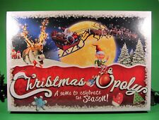 Christmas-Opoly Monopoly Board Game Late for the Sky Made in USA MINT NIB
