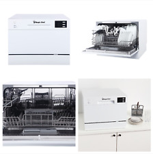 New Dishwasher Portable Compact Countertop Dish Washing Machine 6 Wash Programs