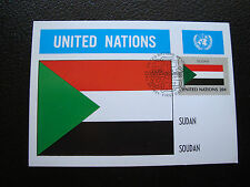 NATIONS-UNIES (new-york) - carte 1er jour 25/9/1981 (cy79) united nations
