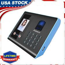 Attendance Machine Face Fingerprint Recognition Mix Biometric Time Clock