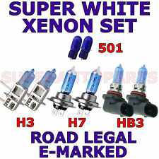 2 ampoule veilleuse LED QUADRI 4x3mm W5W T10 BLEU CHRYSLER PT CRUISER