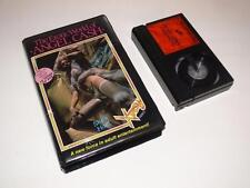 Betamax Video ~ The Erotic World of Angel Cash ~ Pre-Cert ~ Xtasy Video