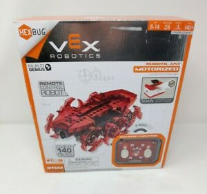 Hex Bug Vex Robotics Robotic Ant Motorized Construction Set Remote Control Robot