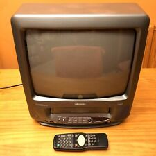 "Memorex 13"" Color TV VCR Combo MVT2135B with Remote"