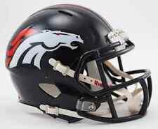 DENVER BRONCOS NFL Mini Football Helmet BIRTHDAY WEDDING CAKE TOPPER DECORATION