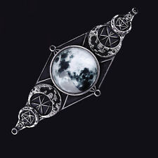 RESTYLE MOON GEOMETRY HAIRCLIP. HAIR BARETTE. LUNAR PHASES. WITCHCRAFT. WICCA