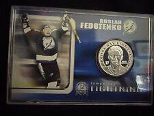 NHL Ruslan Fedotenko Silver Coin / Tampa Bay Lightning Stanley Cup 2004