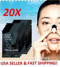 20pcs  PILATEN deep cleansing black mud mask, nose pore strip peel